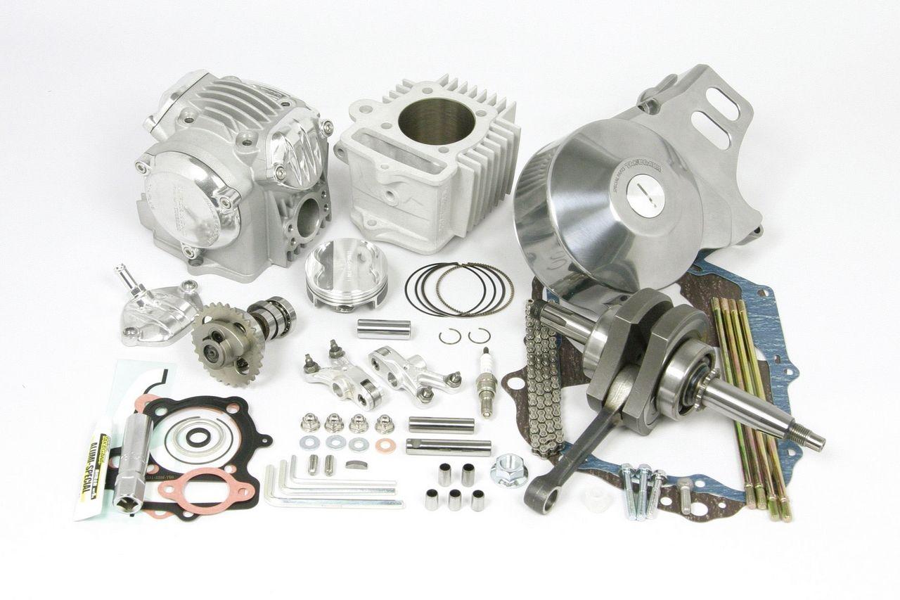 超級汽缸頭4汽門+R SCUT124cc 缸徑,行程加大套件