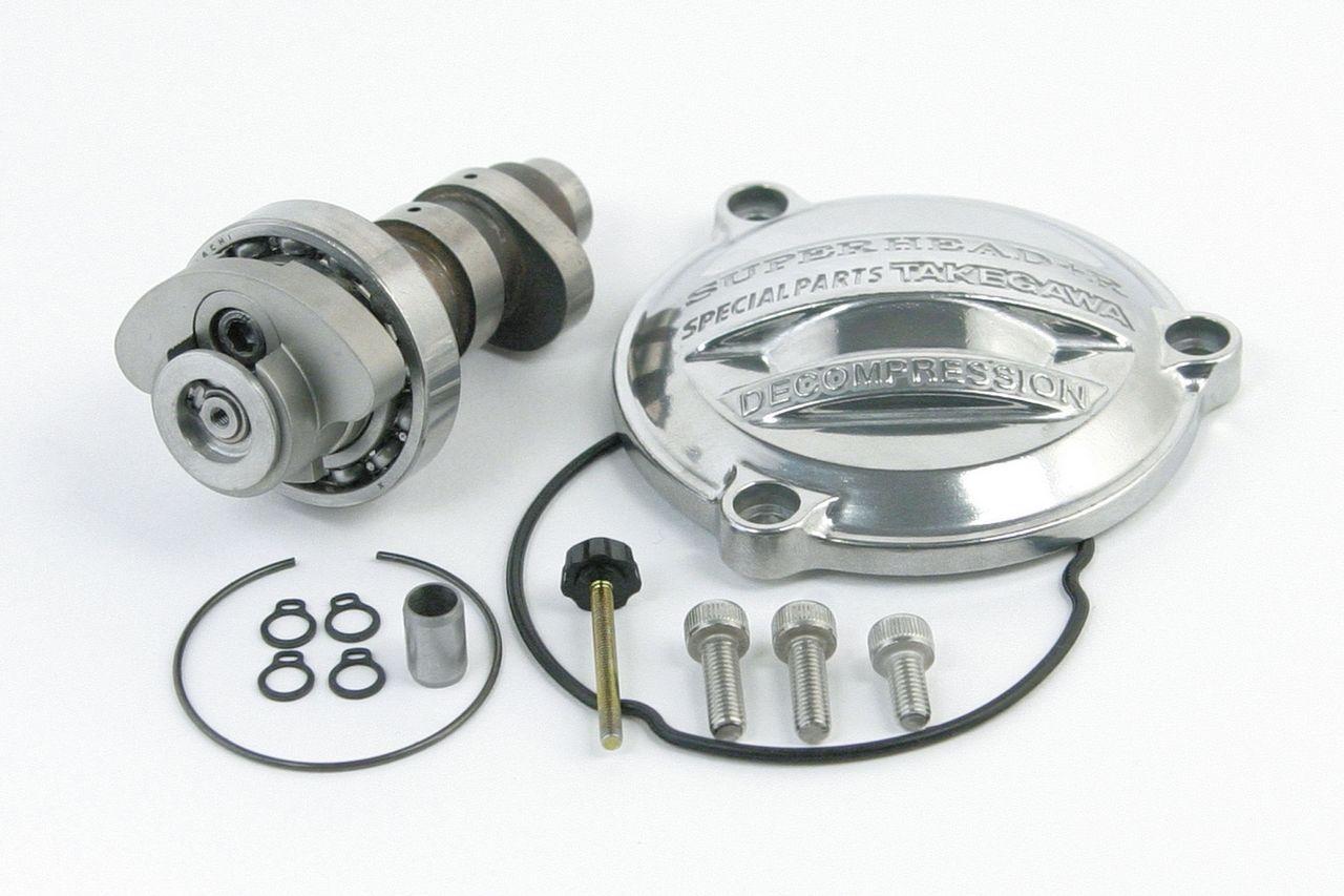 超級汽缸頭+R用減壓凸輪軸(側蓋付)