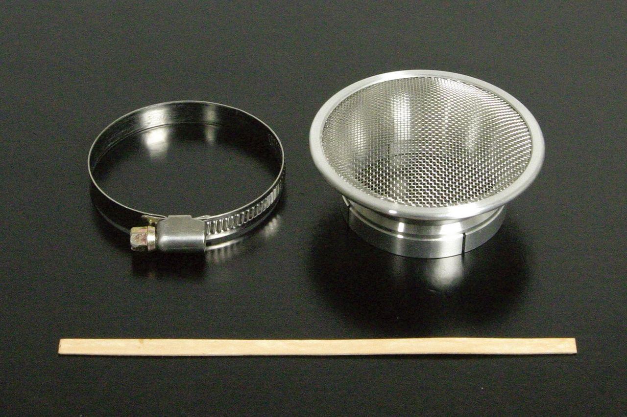 機械切銷加工喇叭口(附濾網)