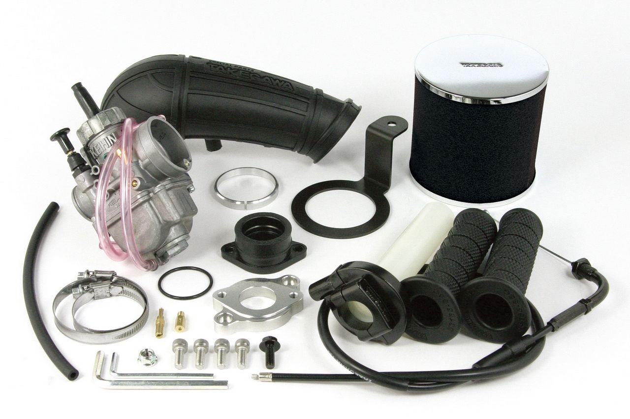 武川社製超級汽缸頭專用KEIHIN PE24大口徑化油器套件