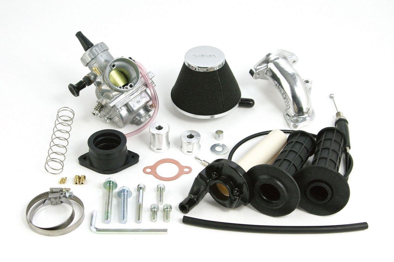 大口徑化油器套件(VM26/高流量濾心/快速油門)