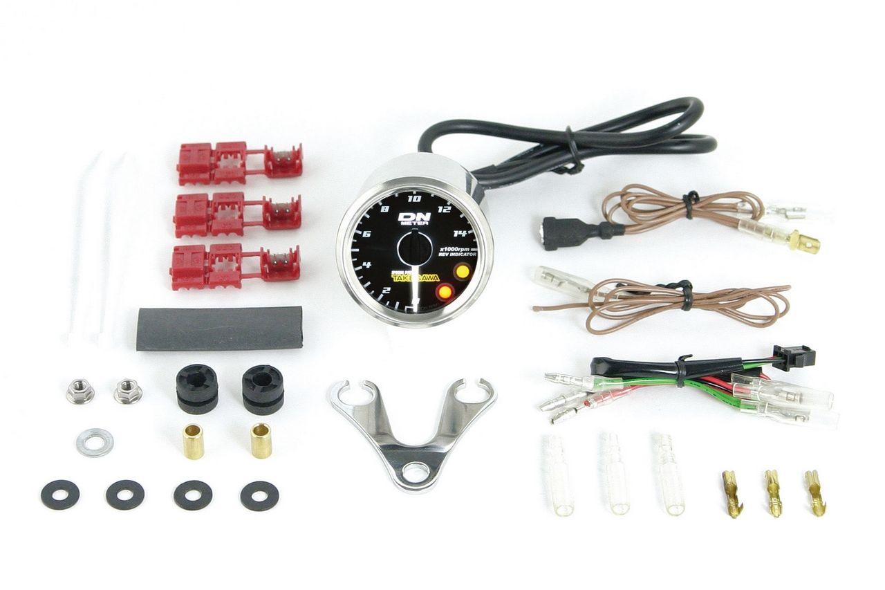 Small DN12V白色LED轉速錶