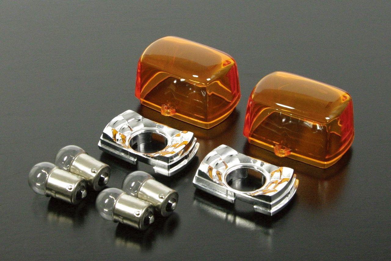 Blaze  HONDA方形方向燈(2個/組t/橘色)