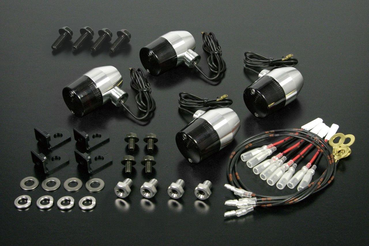 鋁合金切削加工方向燈組(B型式)