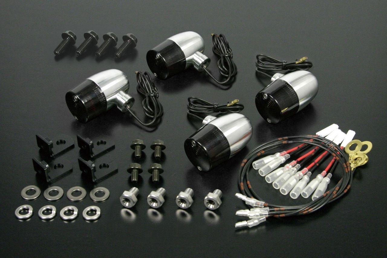 鋁合金切削加工方向燈組(C型式)