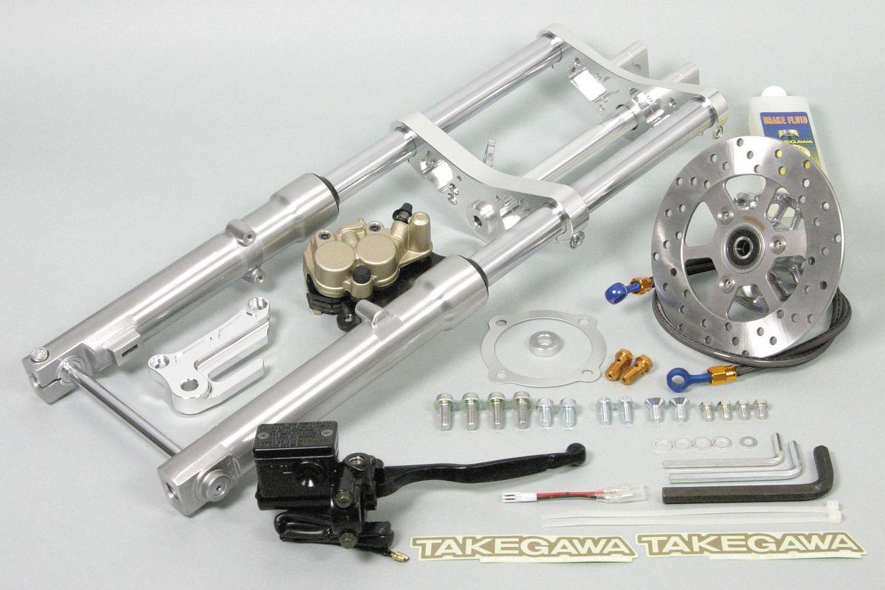 10英吋輪框用Φ28正立式前叉套件