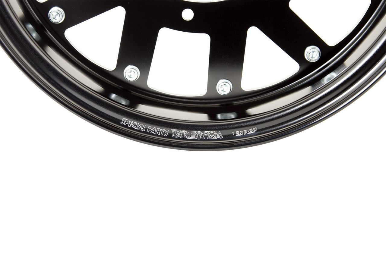 【SP武川】鋁合金輪框套件(12×2.50/黑色) - 「Webike-摩托百貨」
