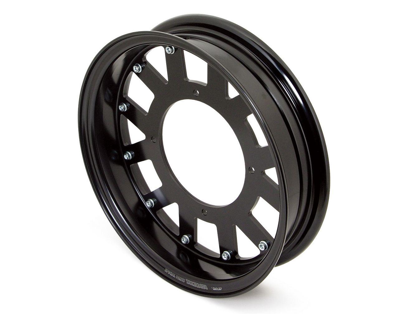 鋁合金輪框套件(12×2.50/黑色)