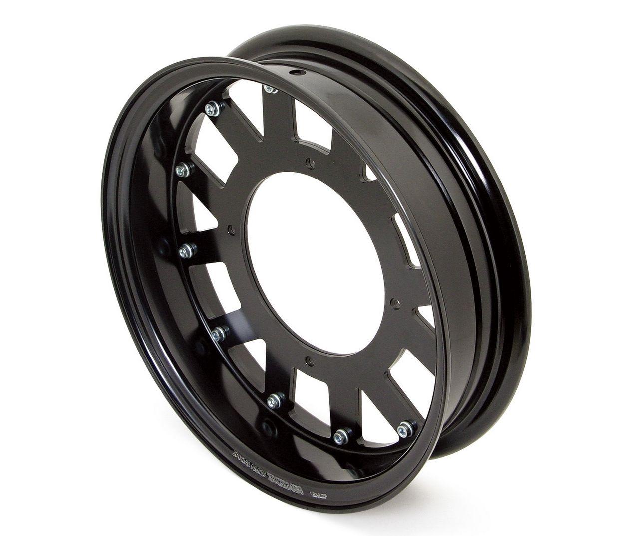 鋁合金輪框套件(12×2.75/黑色)