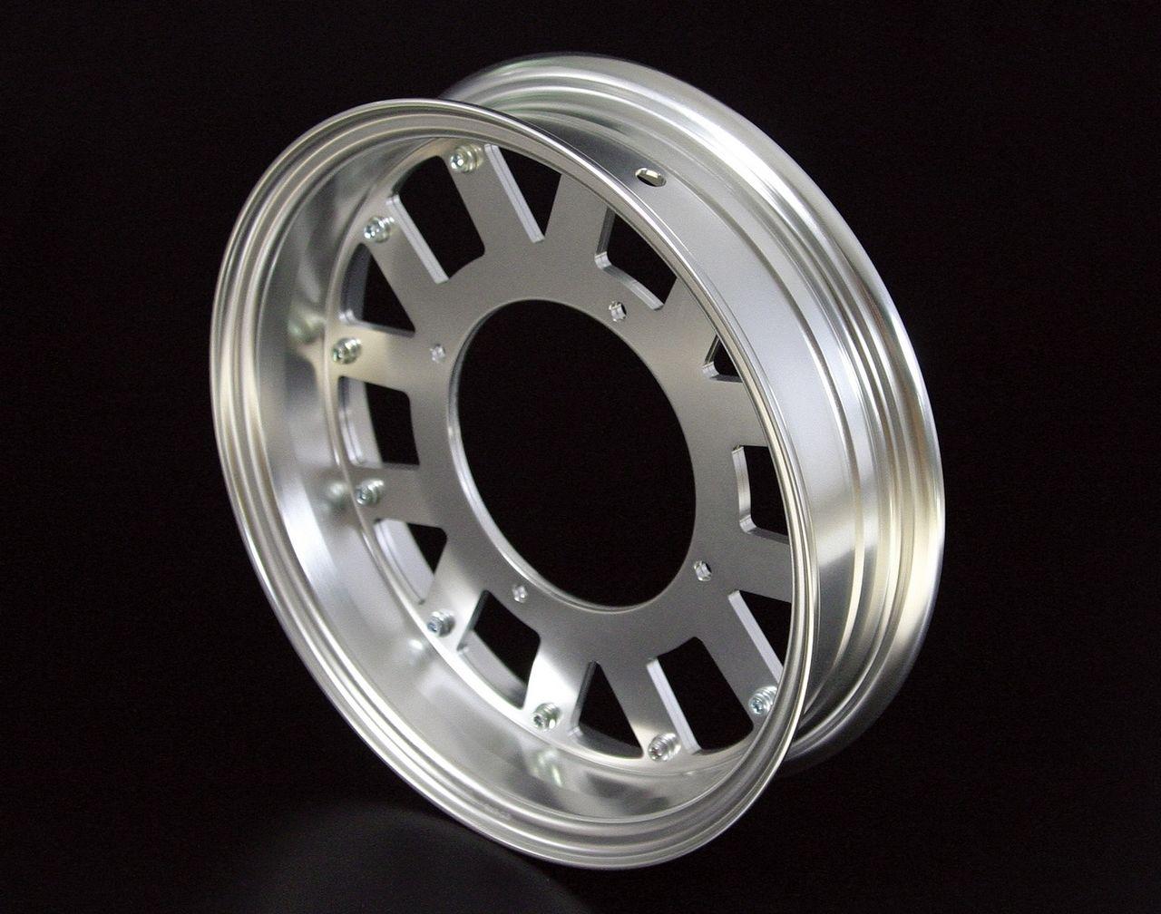 鋁合金輪框套件(12×2.75/銀色)