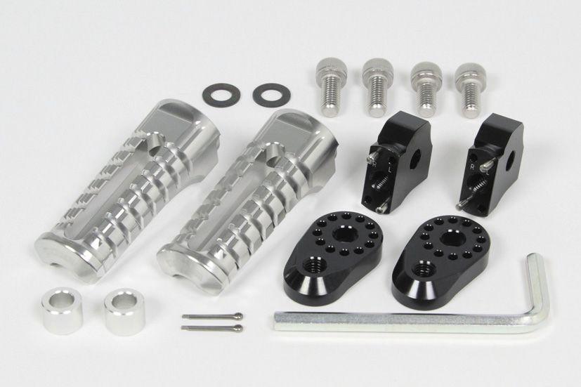 鋁合金切削加工可調整式腳踏套件