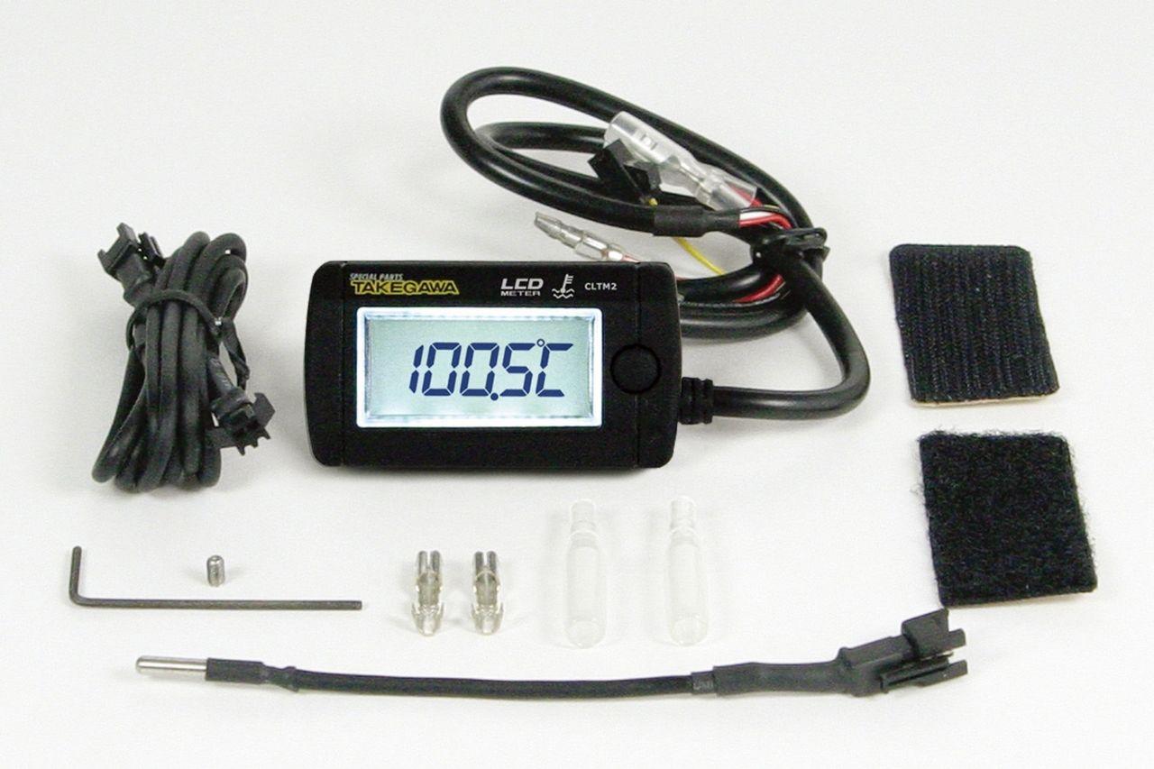 綜合LCD溫度錶(電池駆動/外部電源背光型式)溫度感知器附