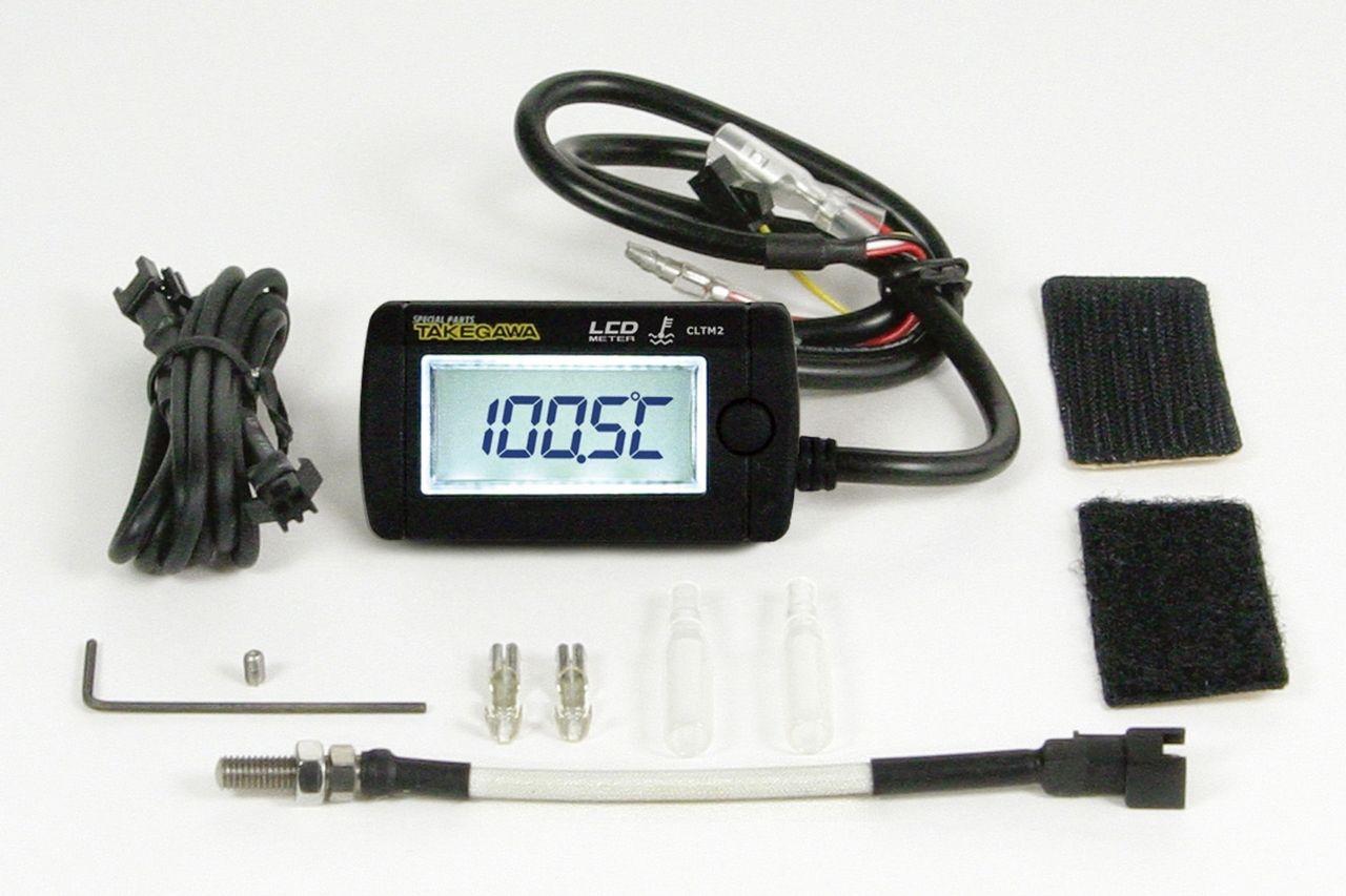 綜合LCD溫度錶(電池駆動/外部電源背光型式)M5感知器附