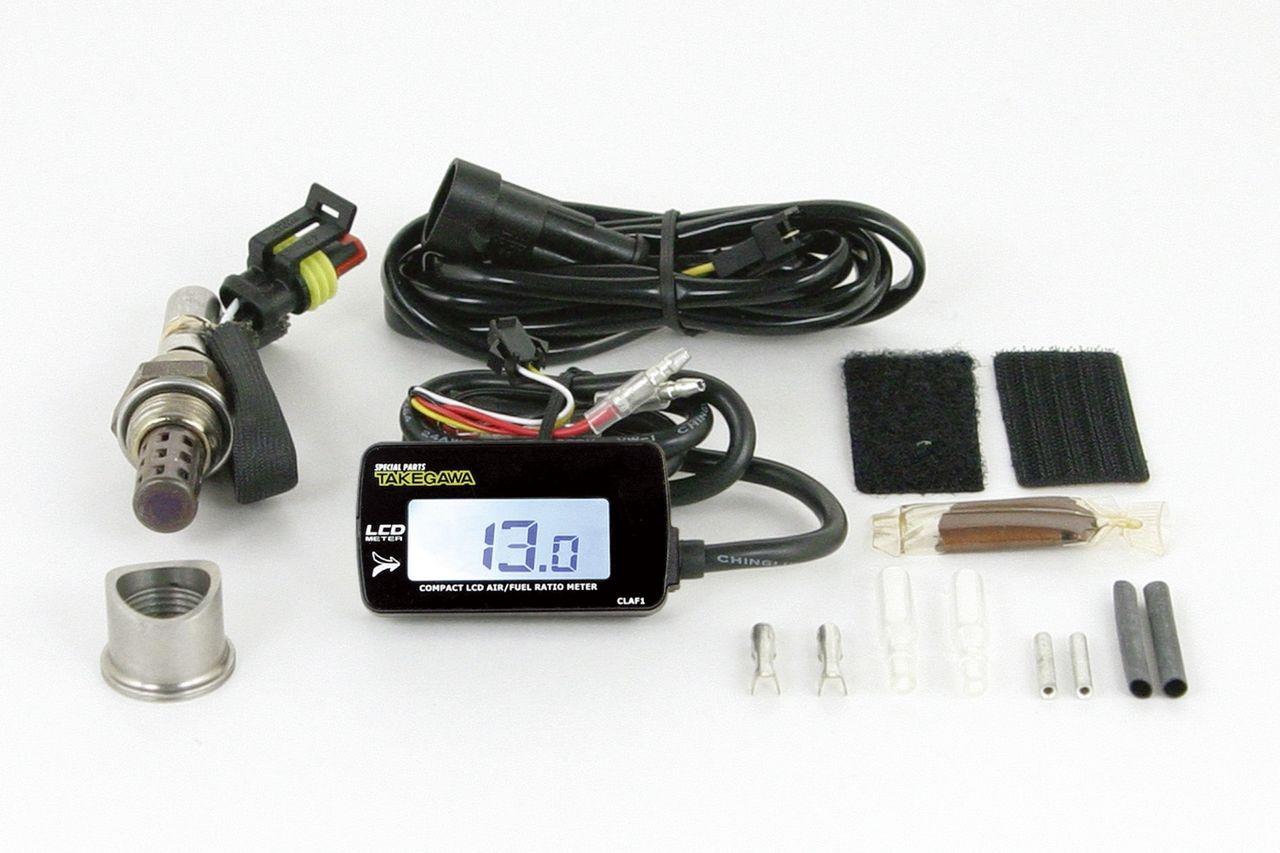 綜合LCD・A/F(空燃比顯示錶)(外部電源背光型式)