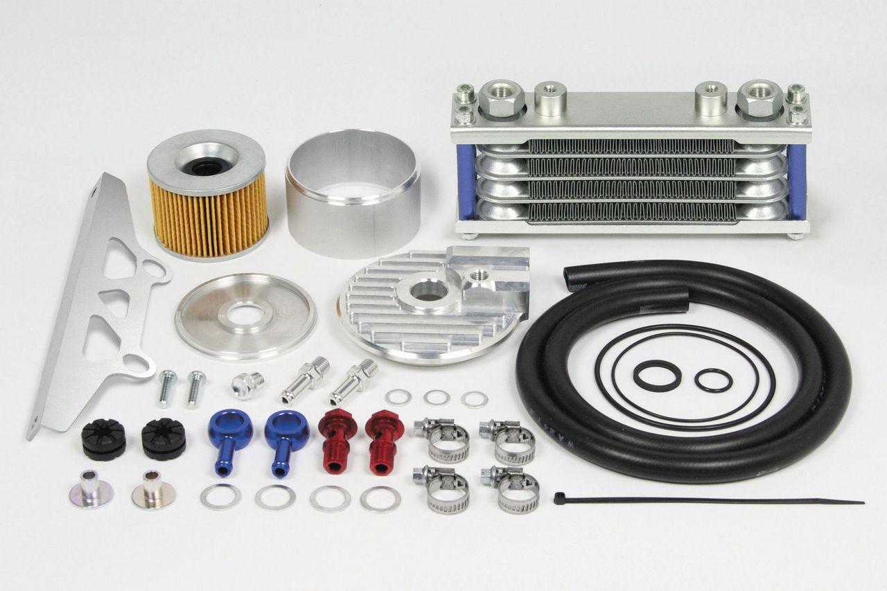 Compact 機油冷卻器AW套件(4排/5機油管)