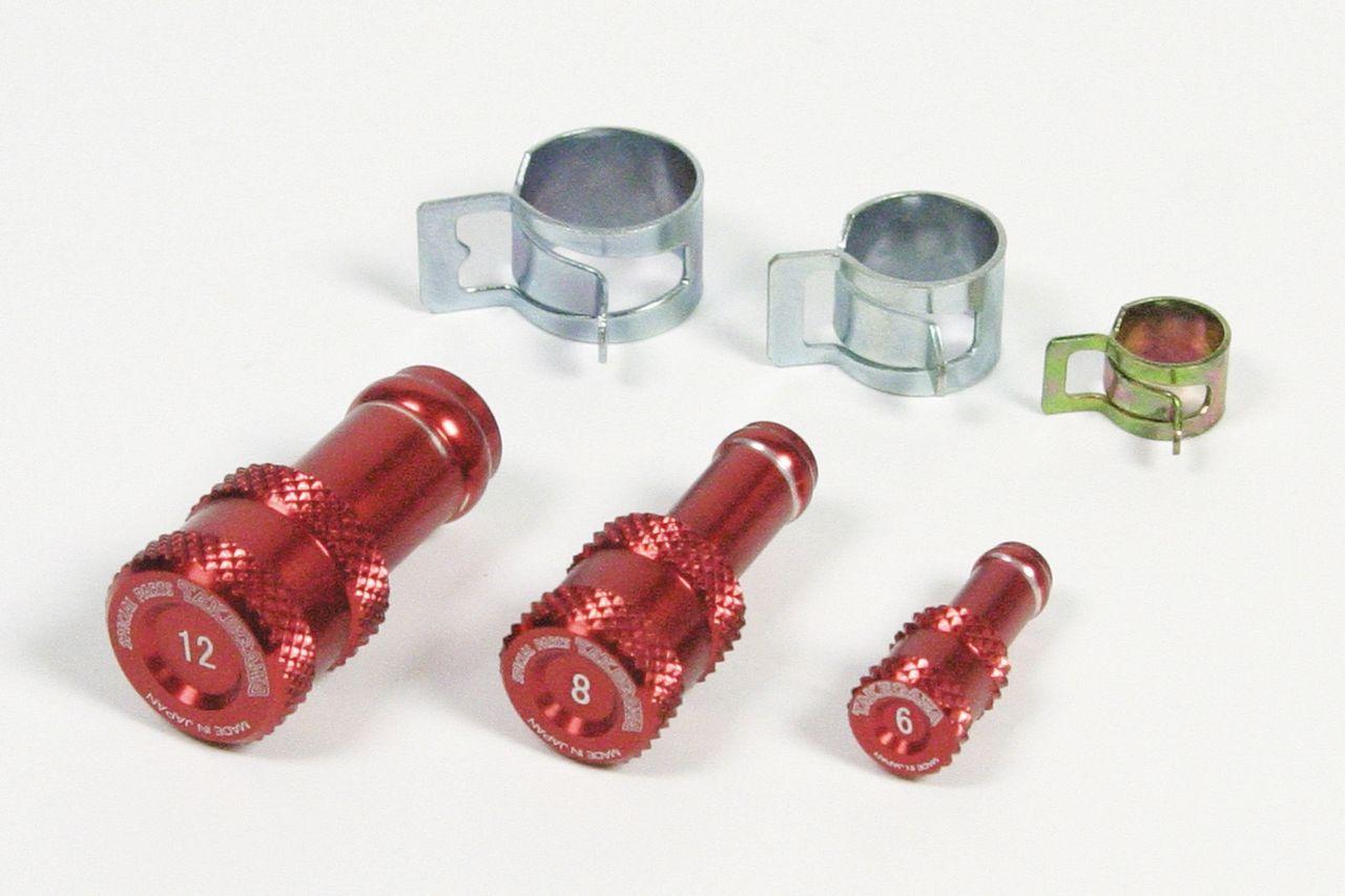 鋁合金切削加工軟管塞子組