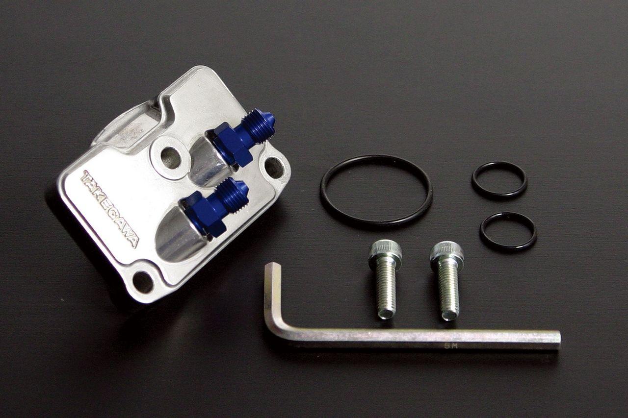 【SP武川】鋁合金鑄造機油冷卻器配件(細管) - 「Webike-摩托百貨」