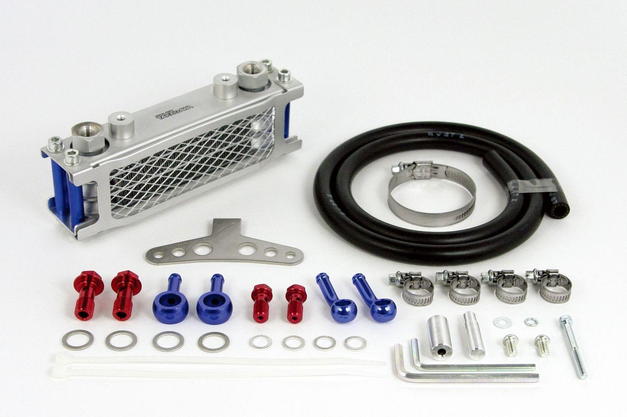 鑄造離合器外蓋裝著車用機油冷卻器套件(含油管)(鑄造離合器外蓋裝著車用)