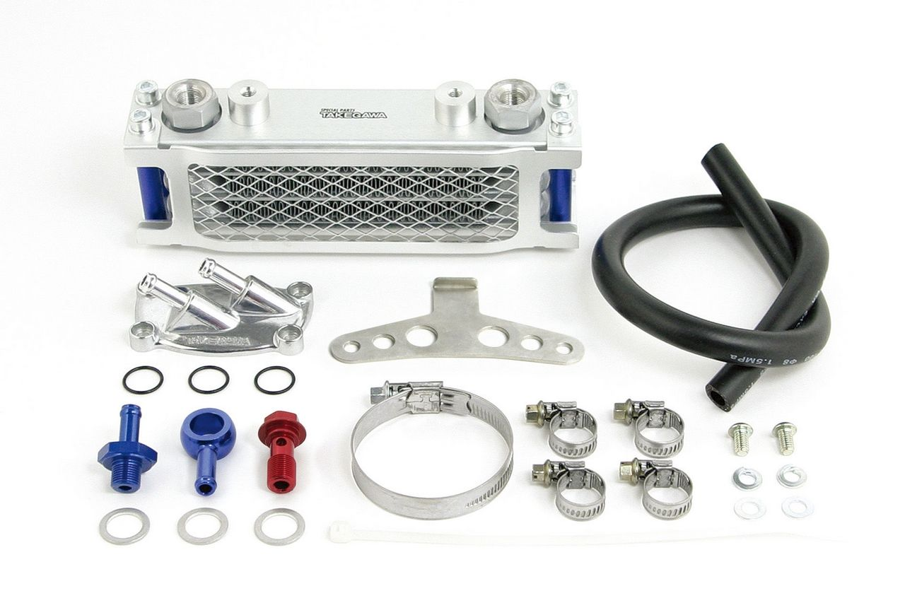 Compact 3排式機油冷卻器(橡膠軟管)