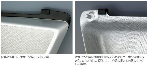 【Force-Design】碳纖維側護蓋 【無立體貼紙】 - 「Webike-摩托百貨」