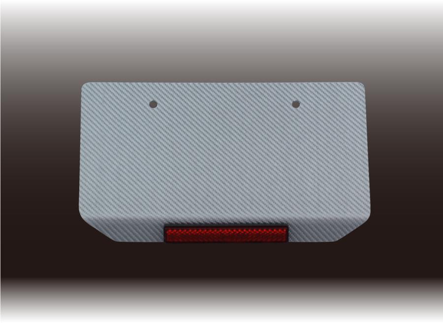 銀色碳纖維牌照架底板(日本牌照鎖距)