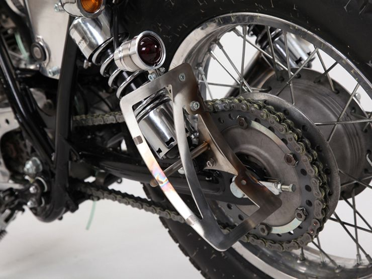 【Motor Rock】69 尾燈 Type1 (銅) - 「Webike-摩托百貨」