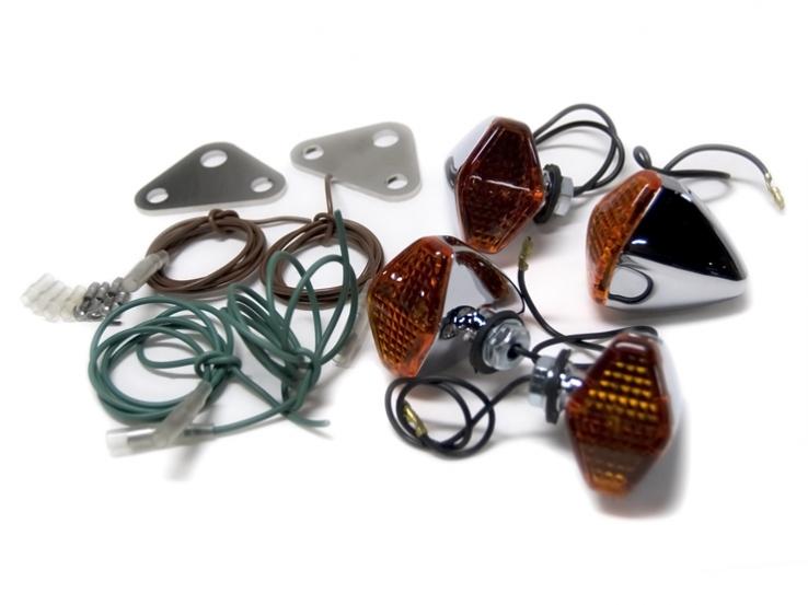 鑽石型 方向燈套件 DS4用