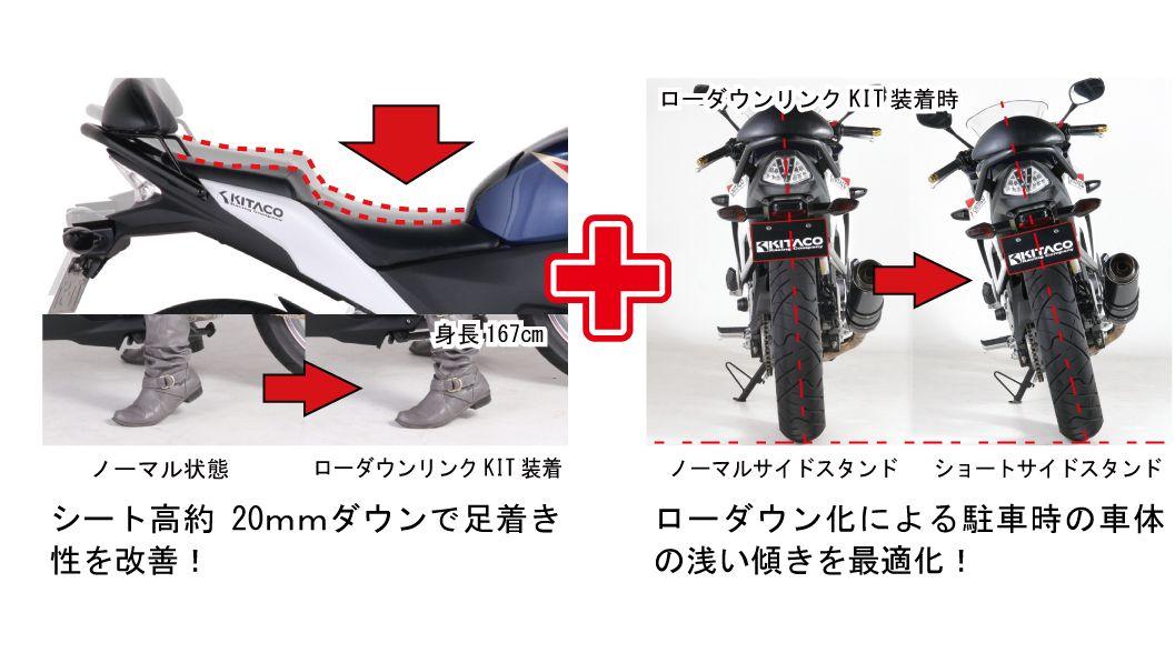 【KITACO】降低套件 - 「Webike-摩托百貨」