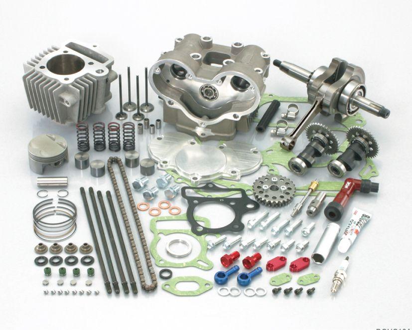 124cc DOHC雙凸輪軸加大缸徑套件(H曲柄)