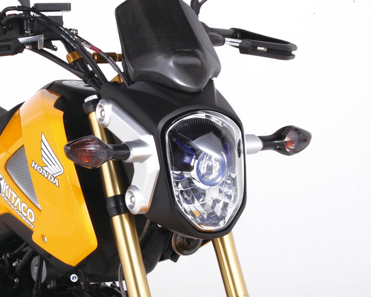 【KITACO】燻黑方向燈殼組 - 「Webike-摩托百貨」