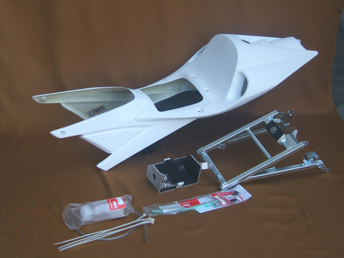玻璃纖維製競賽用坐墊組/ NC30 New Style RC211V (VFR400)