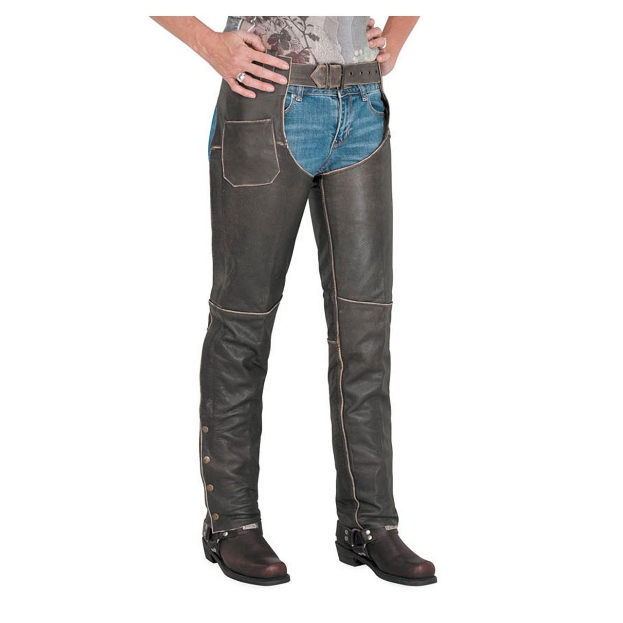 【RIVER ROAD】DRIFTER Chap 西部牛仔護褲