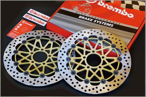 【brembo】[Super Sport] 浮動式煞車碟盤 左右組