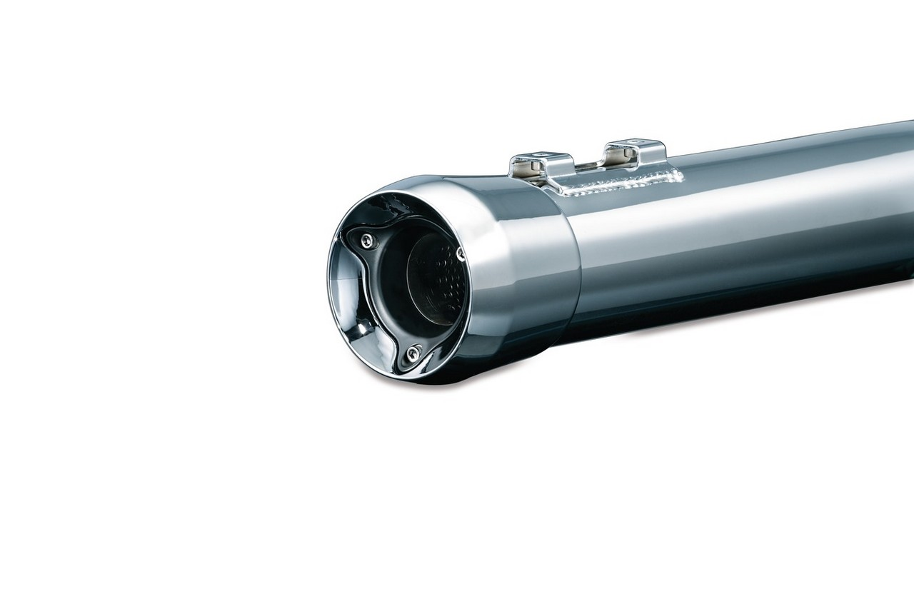 【KURYAKYN CRUSHER EXHAUST】Crusher 排氣管尾段 (Trident 尾蓋) - 「Webike-摩托百貨」