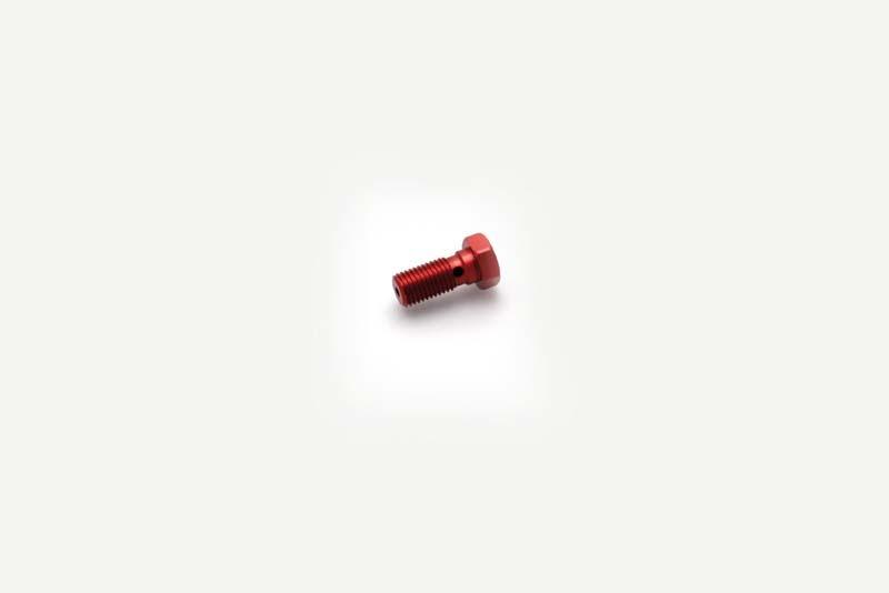 【SPEEDBRAKES】VIS 單油管接頭螺絲/紅色 M10X1.25 - 「Webike-摩托百貨」