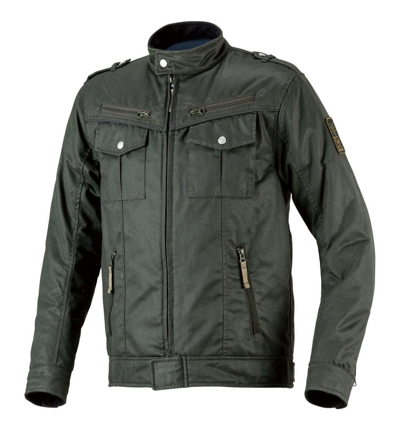 復古紡織外套
