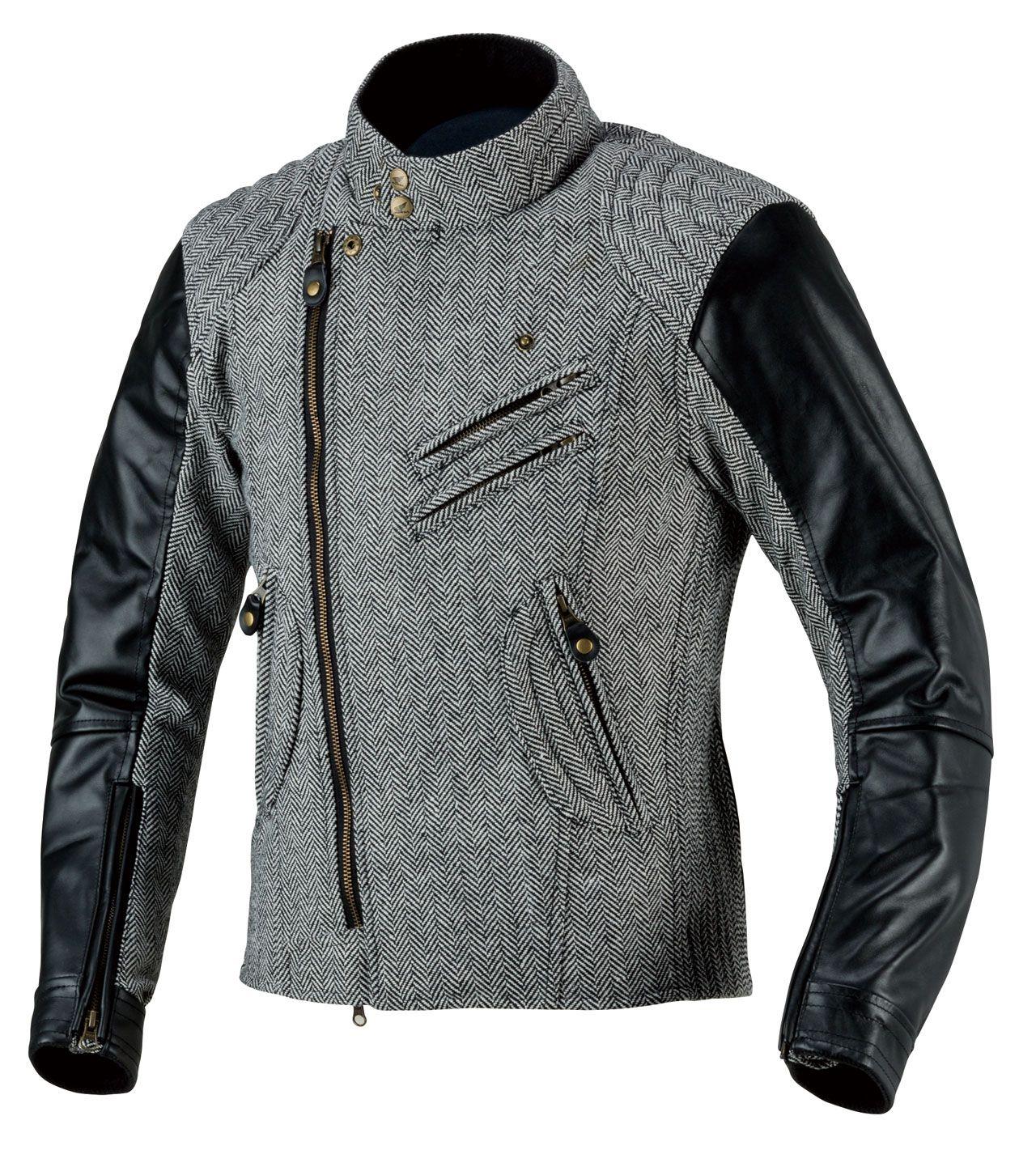 斜紋軟呢騎士外套
