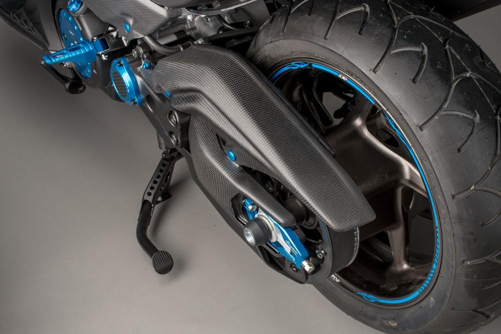 【LighTech】碳纖維零件 YAMAHA用 皮帶護蓋 12-15