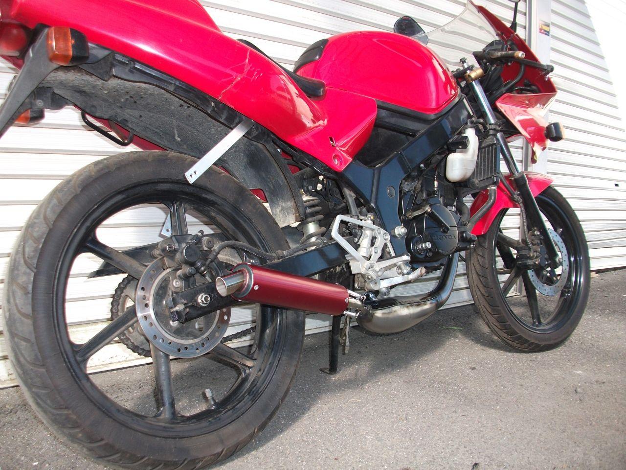 【Racing Shop Yokota】RZ50 街頭賽車俱樂部 短 膨脹室排氣管