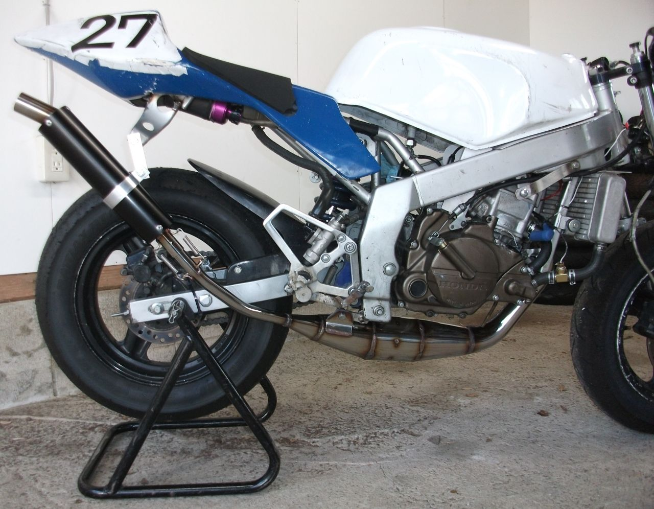 【Racing Shop Yokota】TZM50R 街頭賽車俱樂部 不銹鋼 hand-rolled 膨脹室排氣管