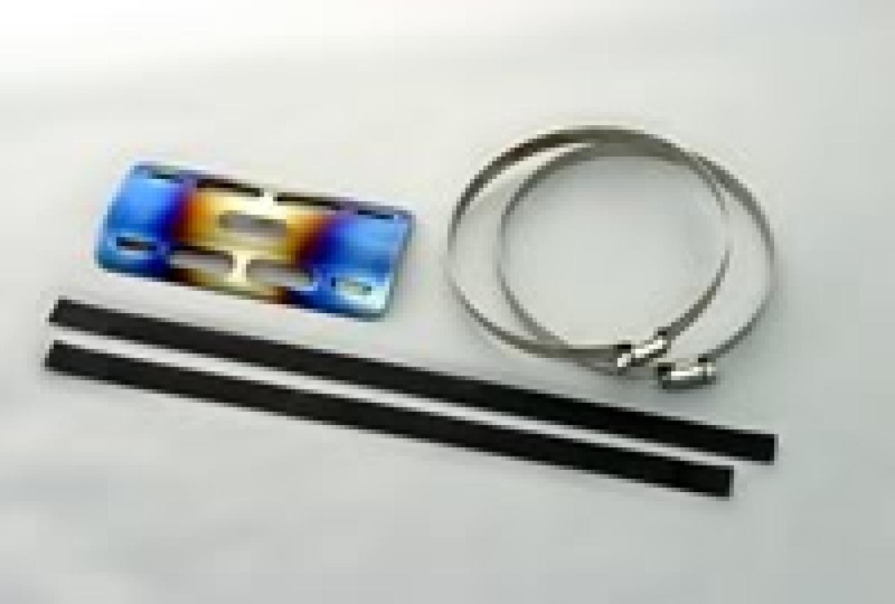 【K-FACTORY(K工廠)】鈦合金・消音器護蓋