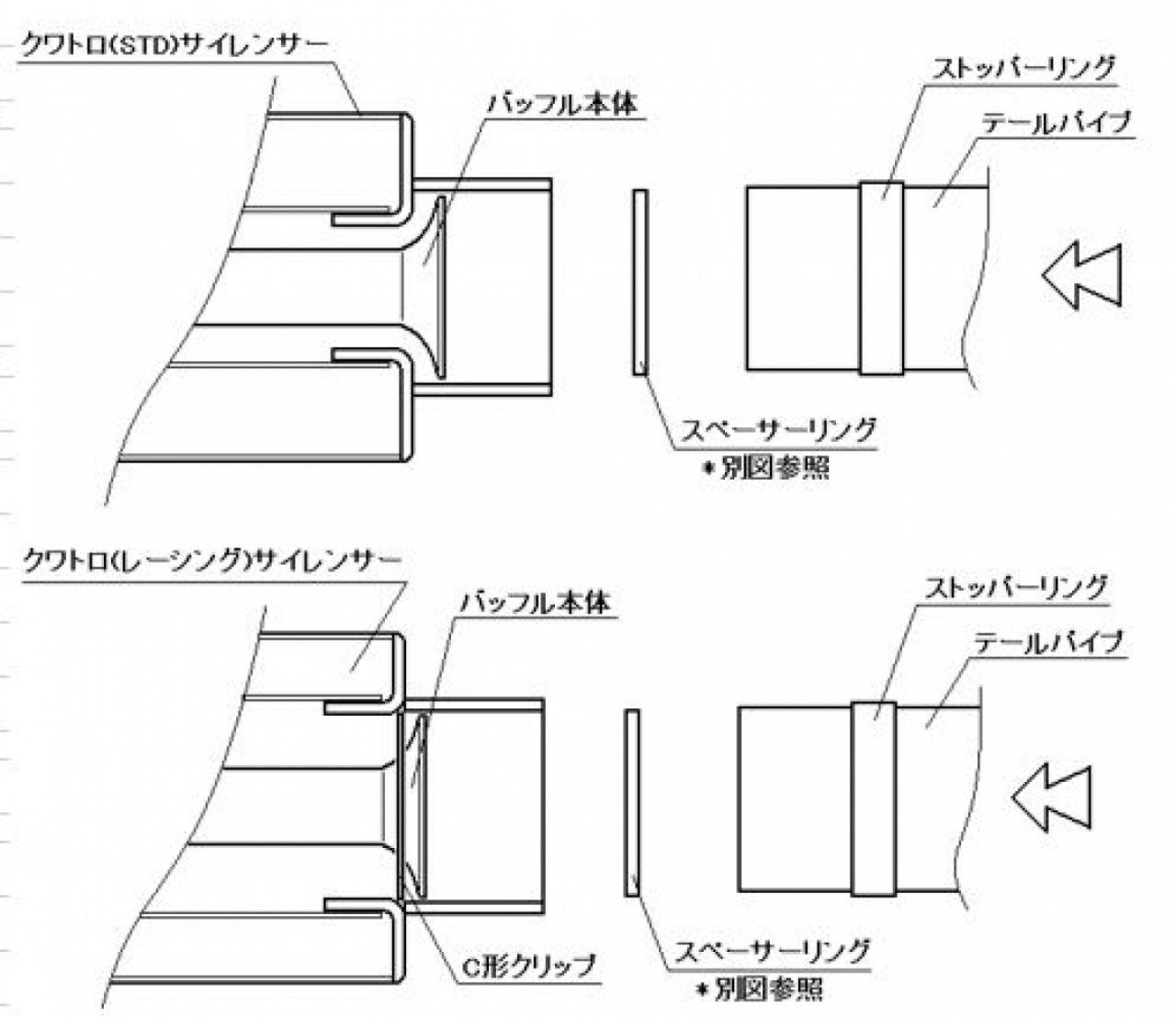 【K-FACTORY K工廠】內消音器