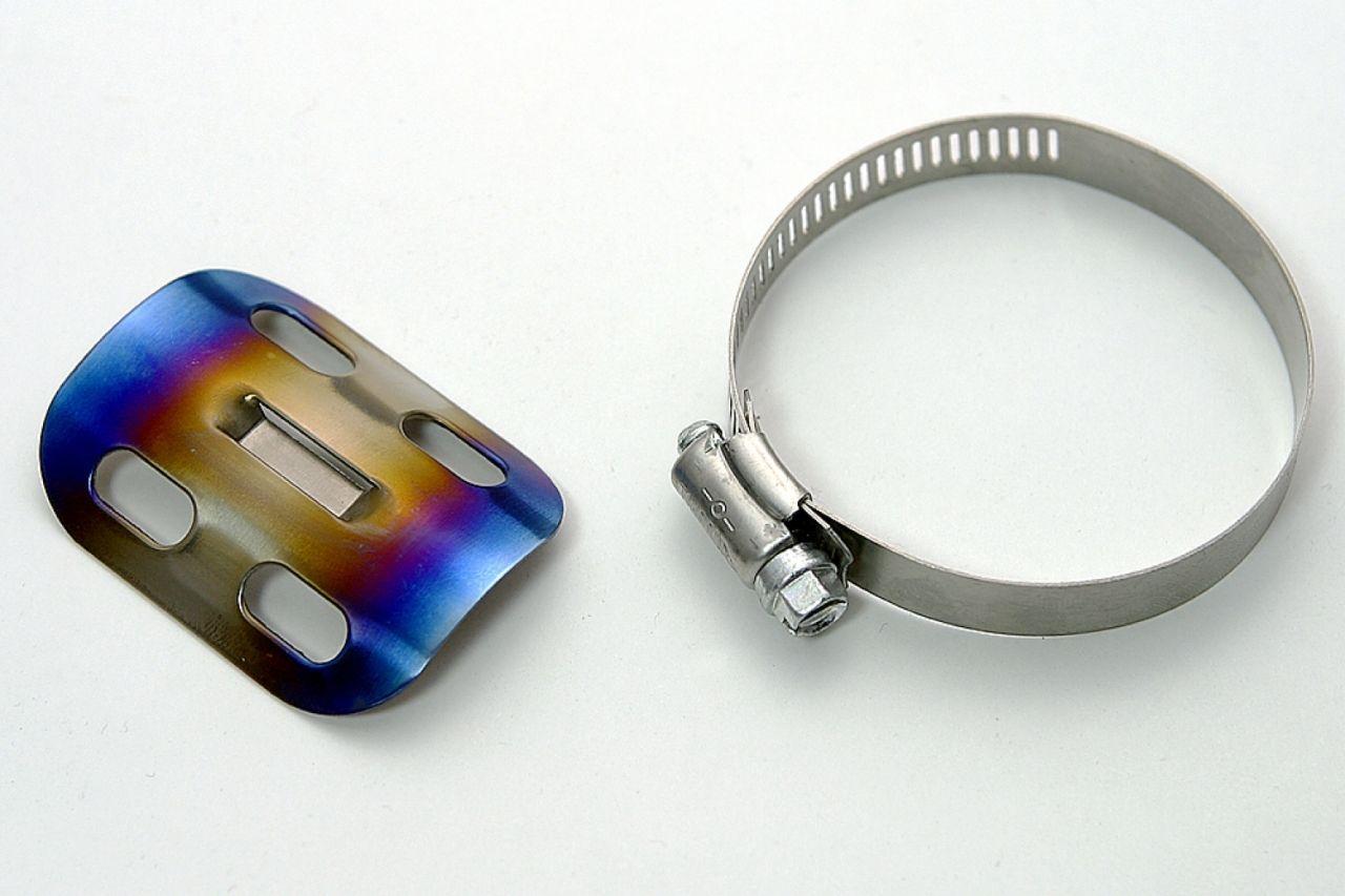 鈦合金・排氣管護蓋L