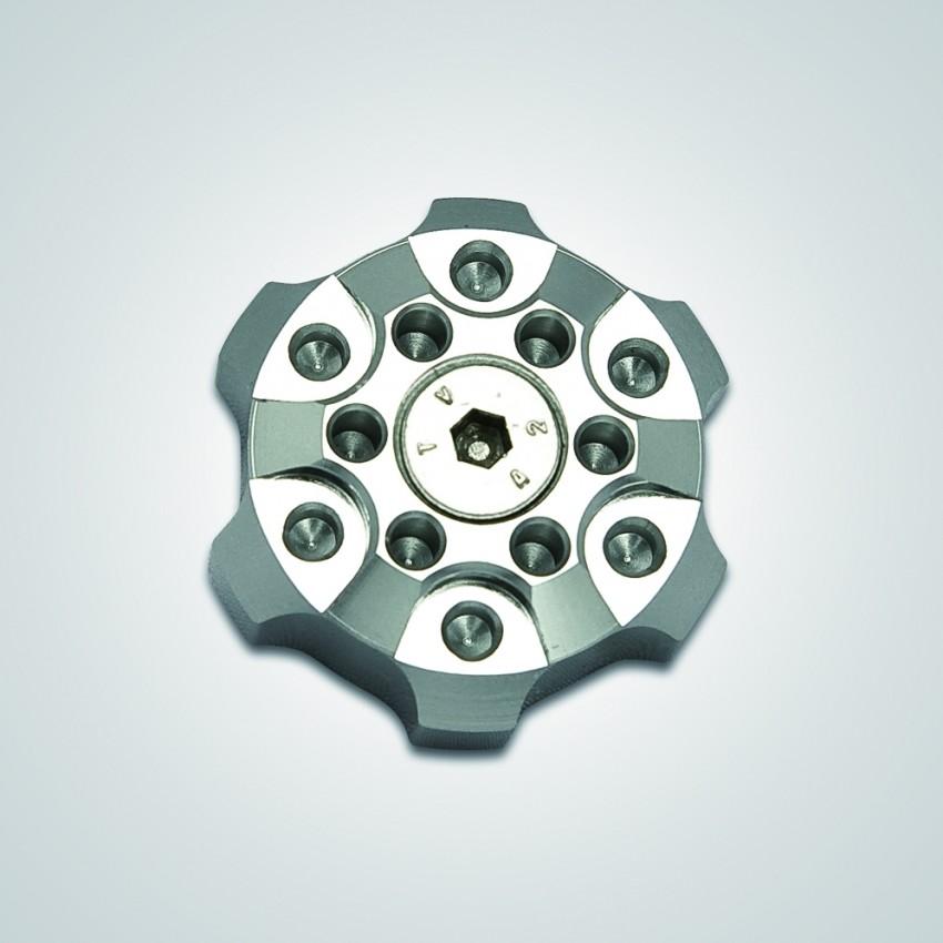 【K-FACTORY(K工廠)】OHLINS用 後避震預載調節器旋鈕蓋 C Type