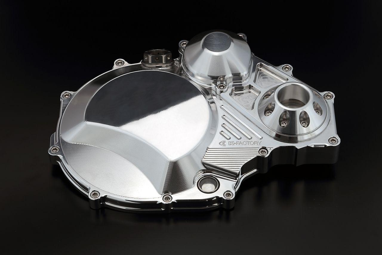【K-FACTORY(K工廠)】離合器外蓋 TYPE 2 (附鋁合金型保護滑塊)