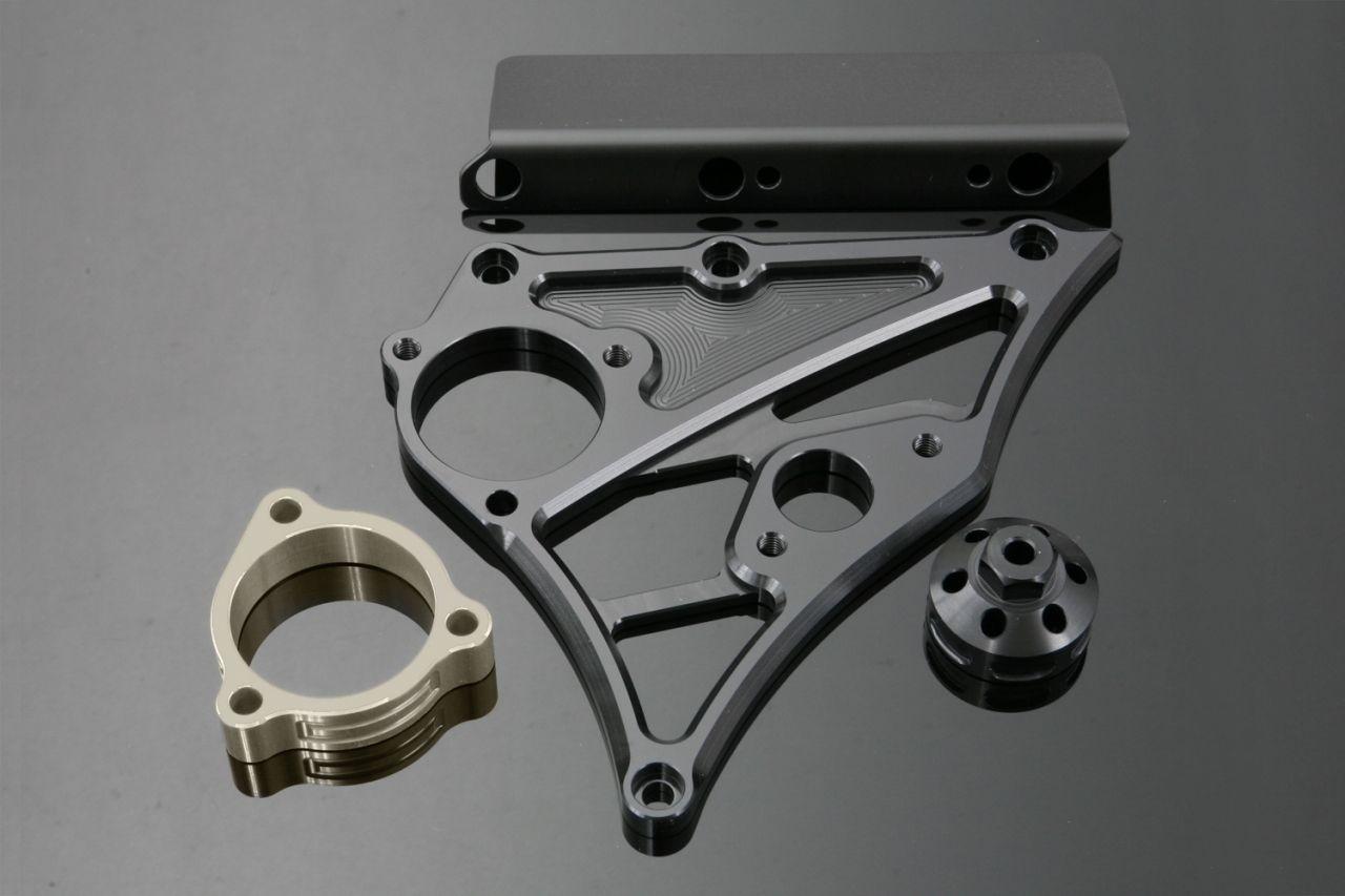 【K-FACTORY(K工廠)】前齒盤外蓋 (有速度錶用感知器座)