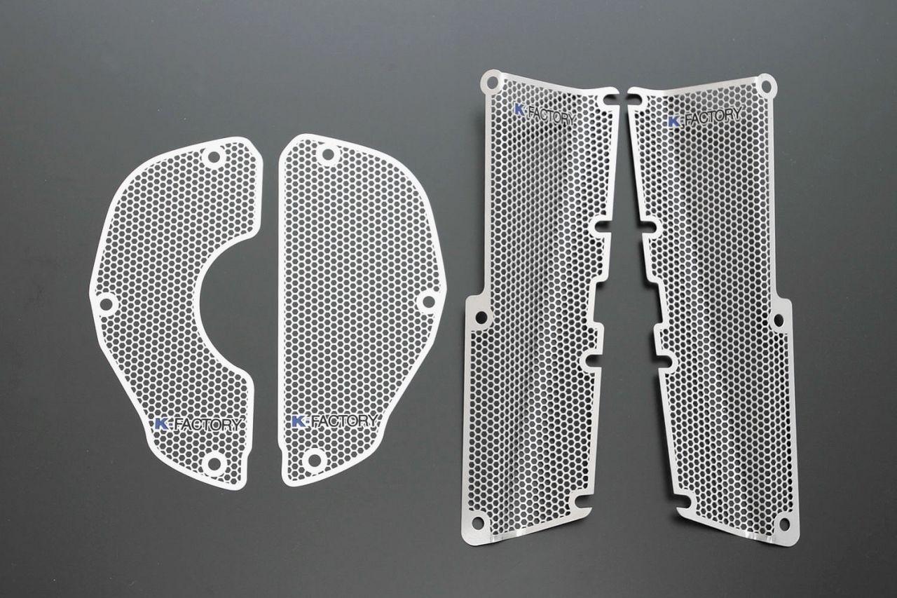 【K-FACTORY】散熱器(水箱) 側導風護罩 - 「Webike-摩托百貨」