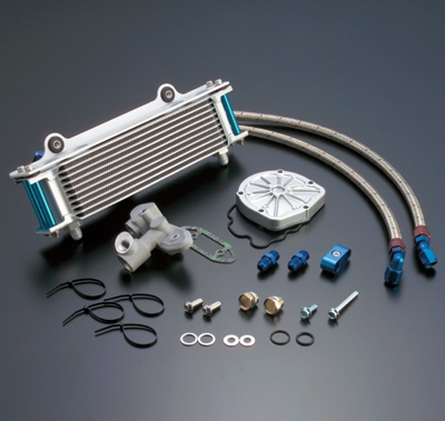 【ACTIVE】直式機油冷卻器套件 - 「Webike-摩托百貨」