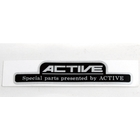 【ACTIVE】機油節溫器用 金屬貼紙