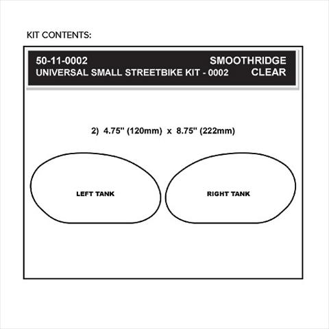 【STOMPGRIP】59-10003 通用型 楕圓型油箱止滑貼